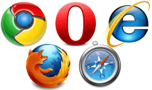 picture of web browsers